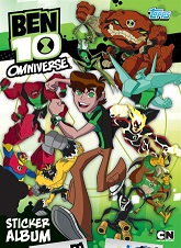 Ben 10 Omniverse Sticker Collection swaps