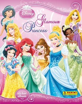 Disney Princess Glamour Sticker Collection swaps