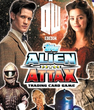 Doctor Who Alien Attax swaps
