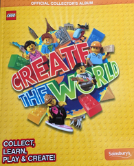 Lego Create The World trading Cards swaps