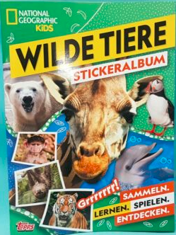 National Geographic Topps Wilde Tiere swaps
