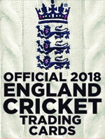 Official 2018 England Cricket Trading Cards swaps