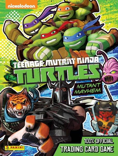 Teenage Mutant Ninja Turtles Mutant Mayhem Cards swaps
