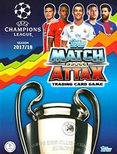 UEFA Champions League 2017-2018 Match Attax swaps