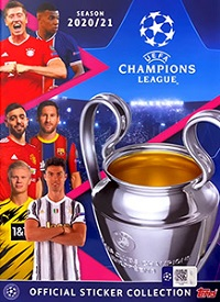 UEFA Champions League 2020-2021 Stickers swaps