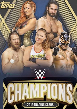 WWE Champions Trading Cards swaps